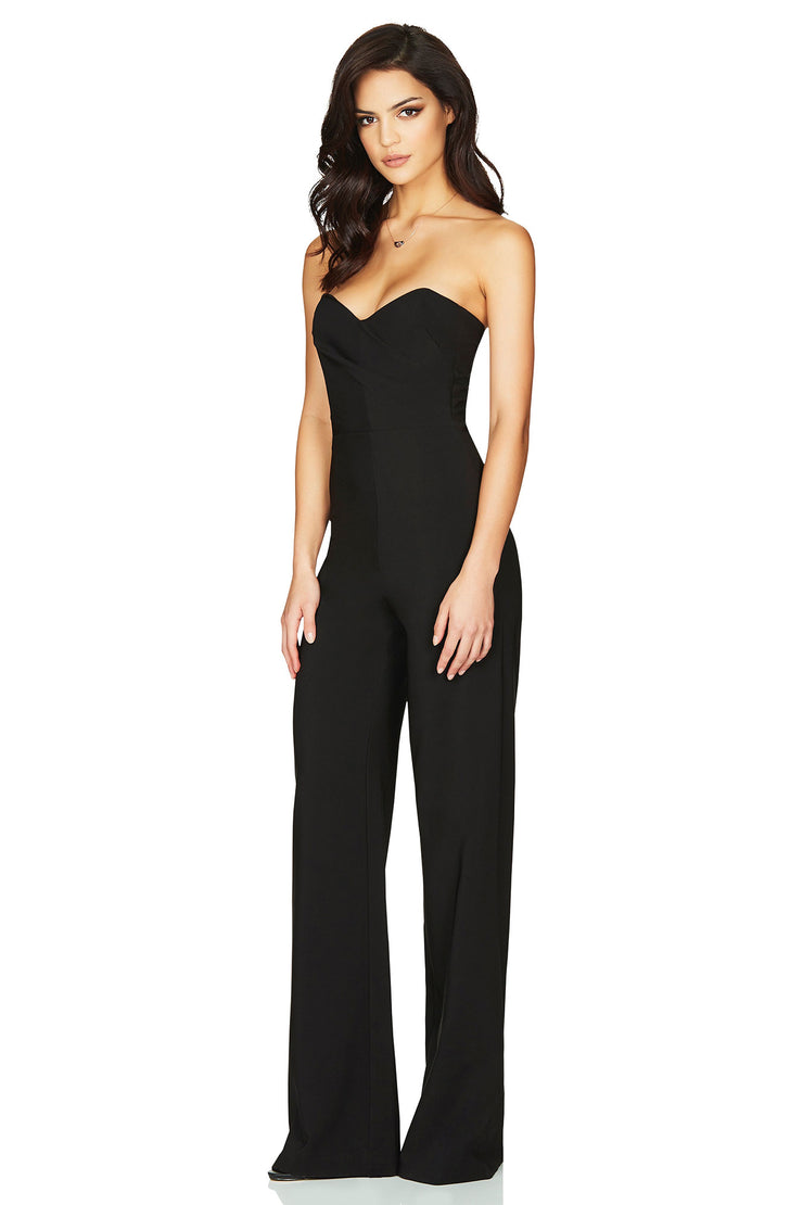 Nookie Bisous Jumpsuit - Black - SHOPJAUS - JAUS