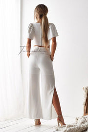 Boss Pants - White - SHOPJAUS - JAUS