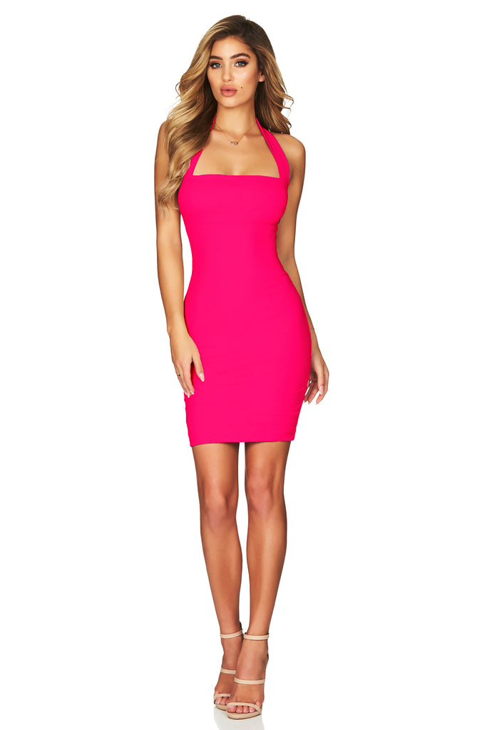 Nookie Boulevard Mini Dress - Hot Pink (PREORDER) - SHOPJAUS - JAUS