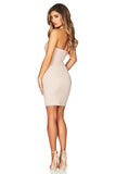 Nookie Boulevard Mini Dress - Sand - SHOPJAUS - JAUS
