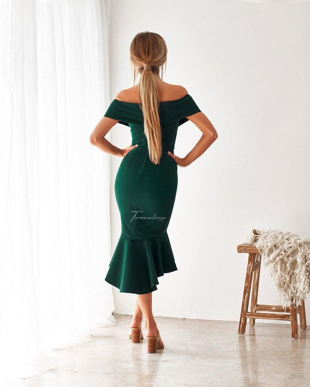 Brienne Dress - Green