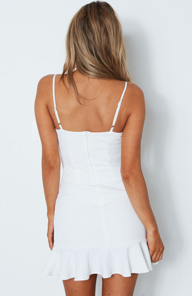 Banks Dress - White - SHOPJAUS - JAUS