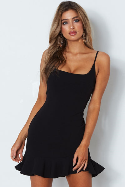 Banks Dress - Black - SHOPJAUS - JAUS