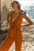 Bloom Jumpsuit - Rust - SHOPJAUS - JAUS