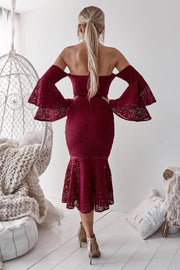 Brianna Dress - Red - SHOPJAUS - JAUS