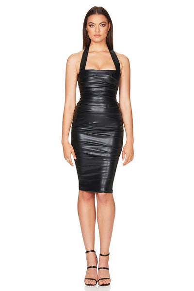 Nookie Cleo Midi Dress - Black