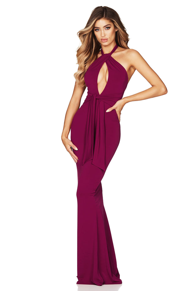 Nookie Crave Gown - Ruby - SHOPJAUS - JAUS