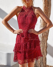 Carina Dress - Red - SHOPJAUS - JAUS