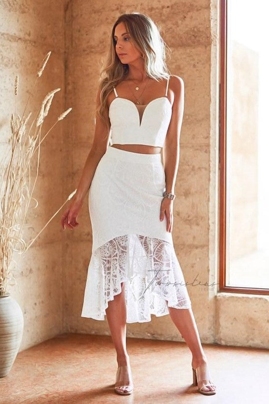 Caryn Set - White