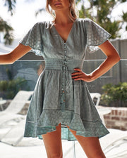 Catania Dress - Sage - SHOPJAUS - JAUS