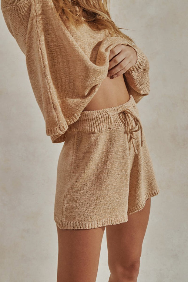 Catalina Long Sleeve Set - Sand