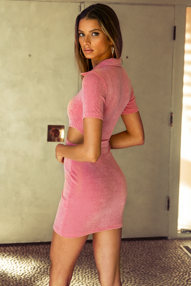 Christelle Mini Dress - Pink