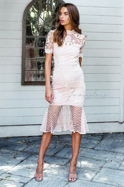 Crystal Dress - Light Pink - SHOPJAUS - JAUS