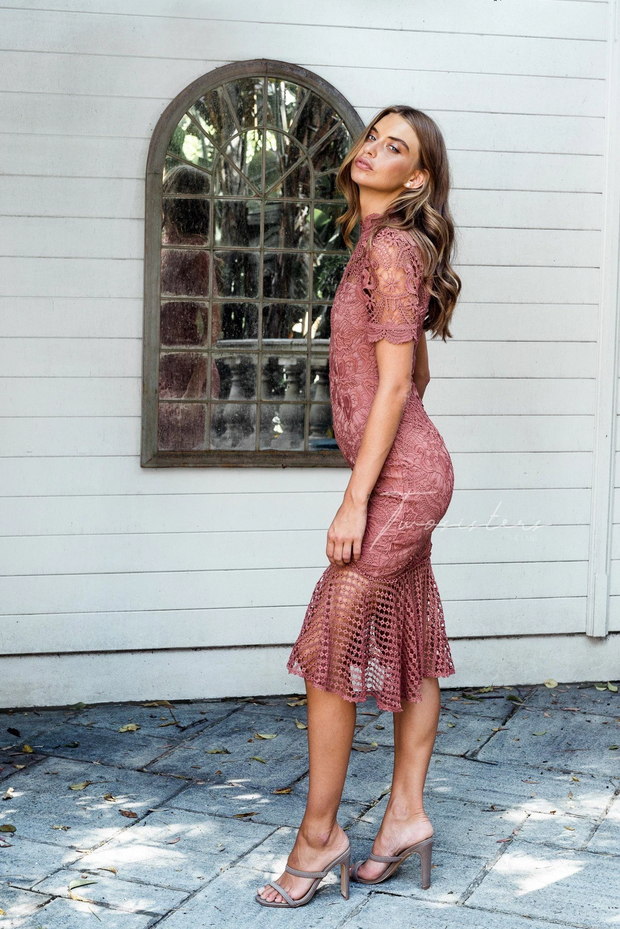 Crystal Dress - Mauve - SHOPJAUS - JAUS