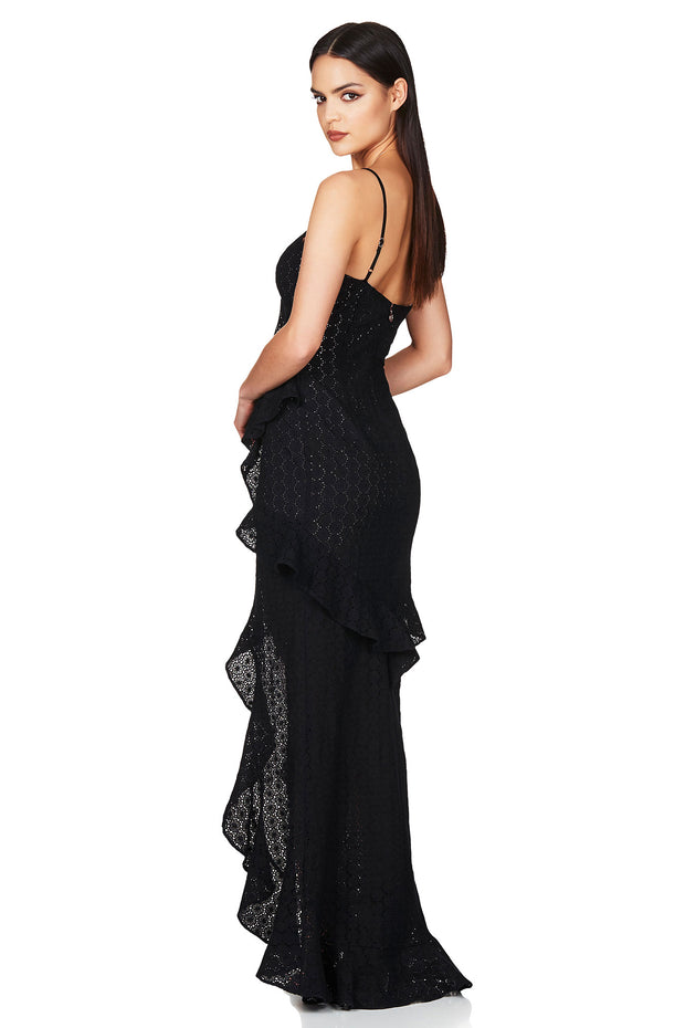 Nookie Darling Gown - Black (PREORDER) - SHOPJAUS - JAUS