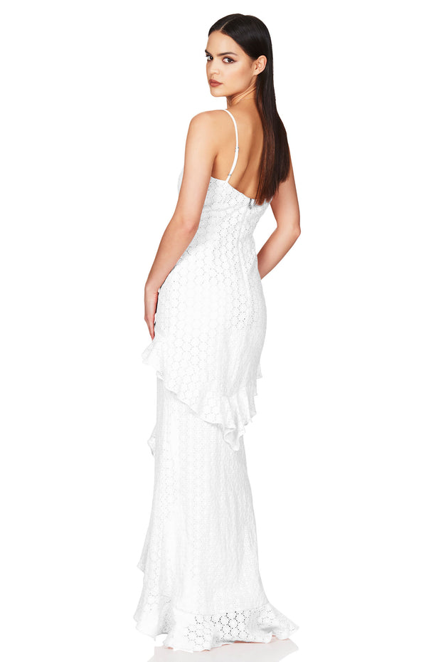 Nookie Darling Gown - White (PREORDER) - SHOPJAUS - JAUS