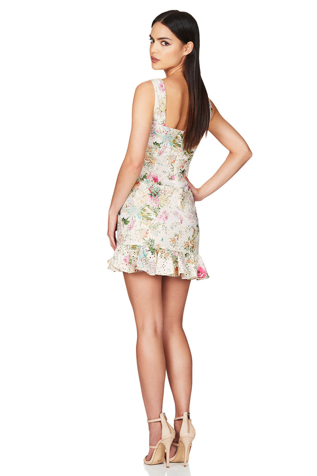 Nookie Darling Mini Dress - Floral (PREORDER) - SHOPJAUS - JAUS