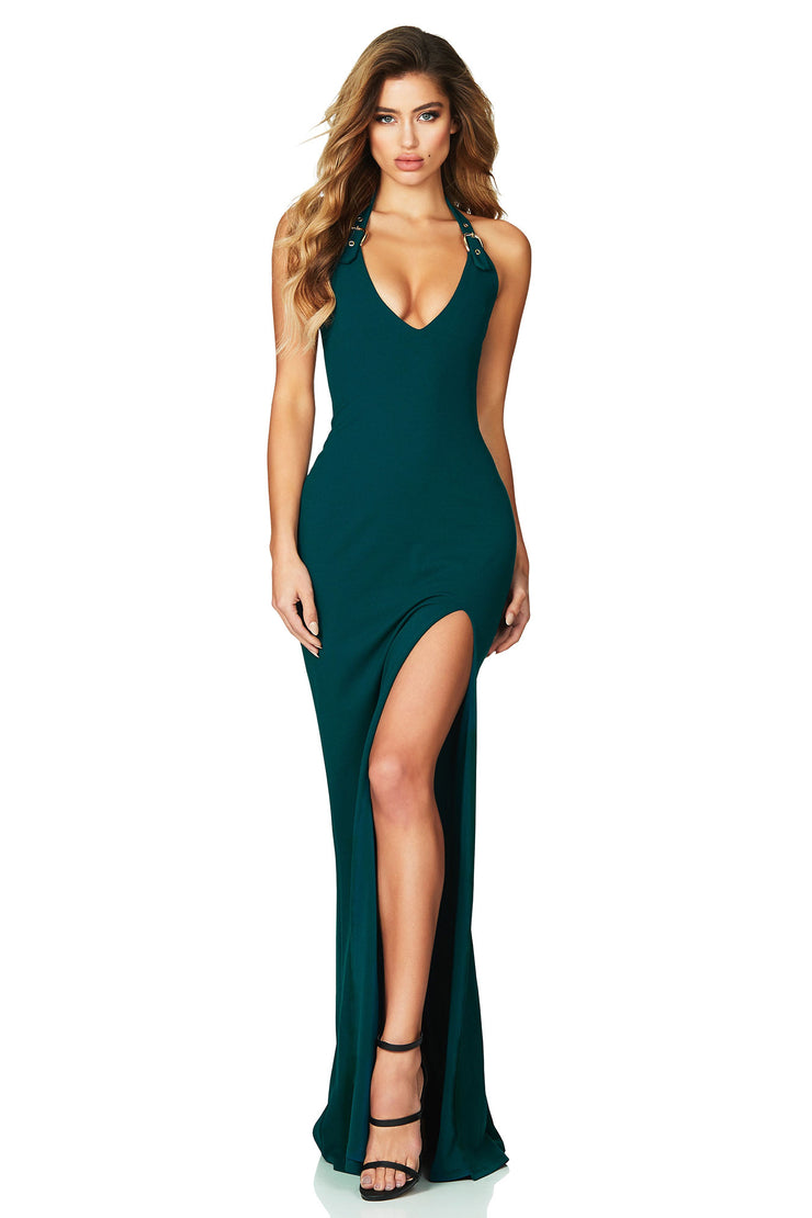 Nookie Desire Gown - Teal - SHOPJAUS - JAUS