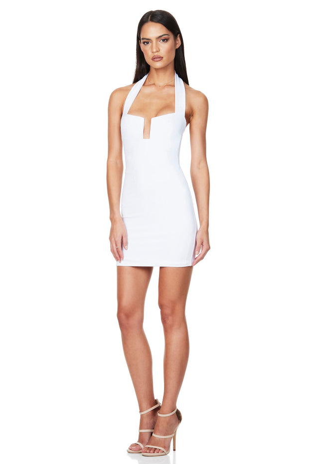 Nookie Destiny Mini Dress - White