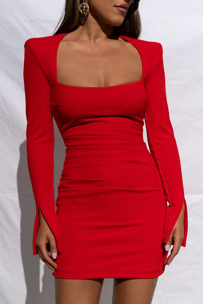 Donna Dress - Red