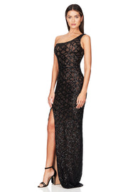 Nookie Eclipse Gown - Black - SHOPJAUS - JAUS