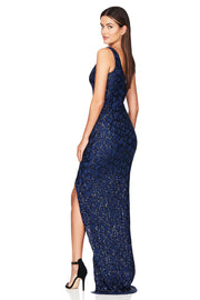 Nookie Eclipse Gown - Navy - SHOPJAUS - JAUS