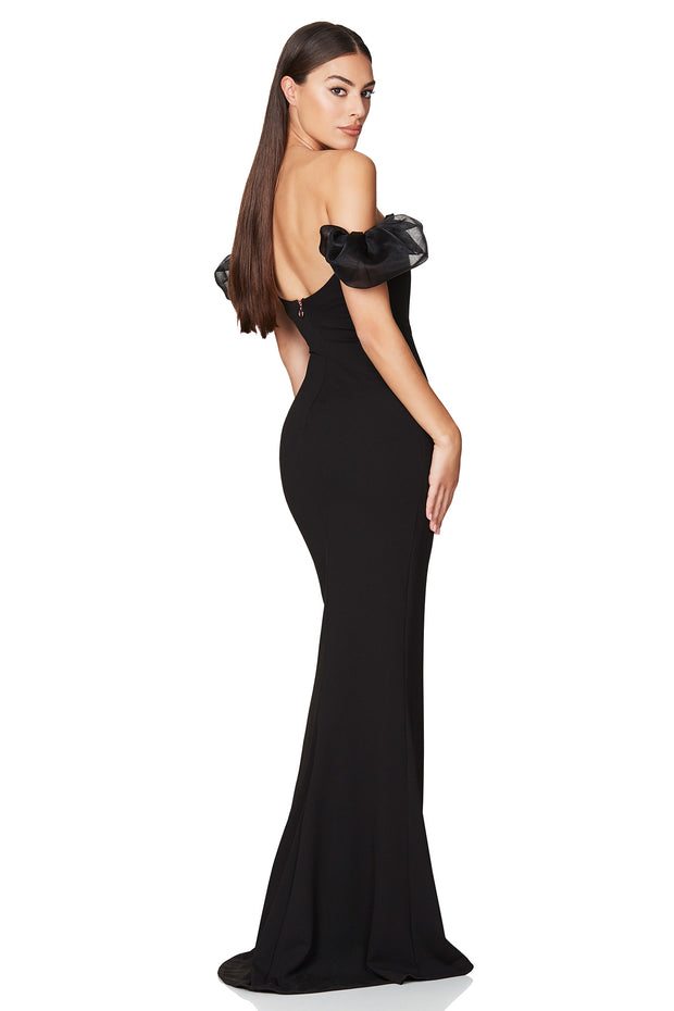 Nookie Eleganza Gown - Black - SHOPJAUS - JAUS