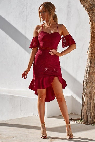 Emily Dress - Red - SHOPJAUS - JAUS