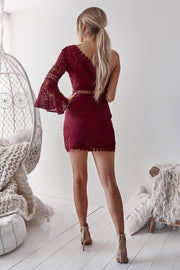 Elysian Dress - Wine - SHOPJAUS - JAUS