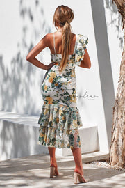 Evaliah Dress - Print - SHOPJAUS - JAUS