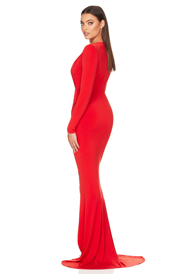 Nookie Farrah Gown - Red