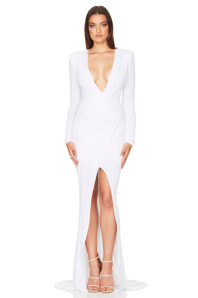 Nookie Farrah Gown - White
