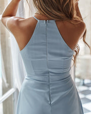 Faye Dress - Baby Blue - SHOPJAUS - JAUS