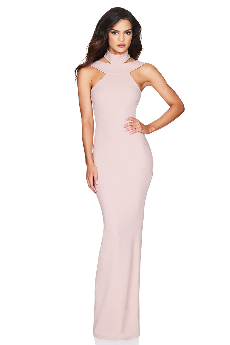 Nookie Gabrielle Gown - Dusty Pink - SHOPJAUS - JAUS