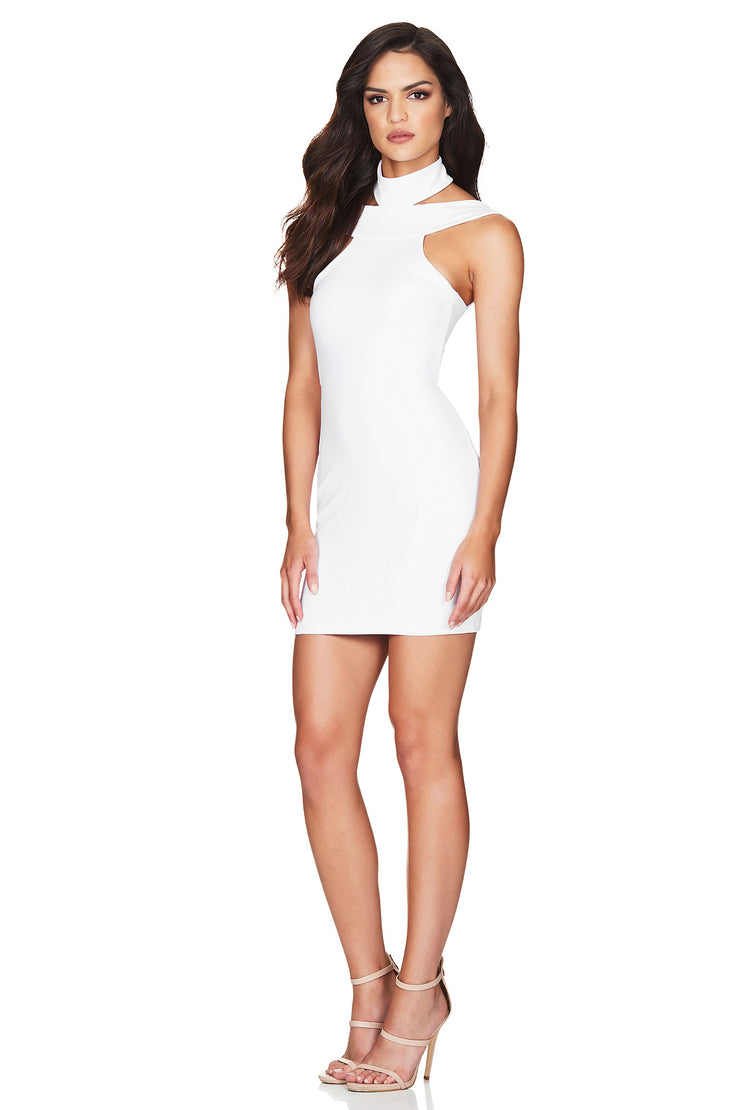 Nookie Gabrielle Mini Dress - White - SHOPJAUS - JAUS