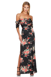 Nookie Garden Party Gown - Black - SHOPJAUS - JAUS