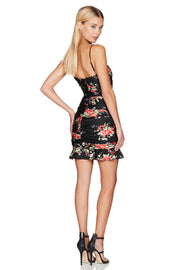 Nookie Garden Party Mini Dress - Black - SHOPJAUS - JAUS