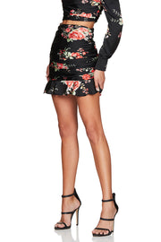 Nookie Garden Party Skirt - Black - SHOPJAUS - JAUS