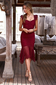 Giselle Dress - Red - SHOPJAUS - JAUS