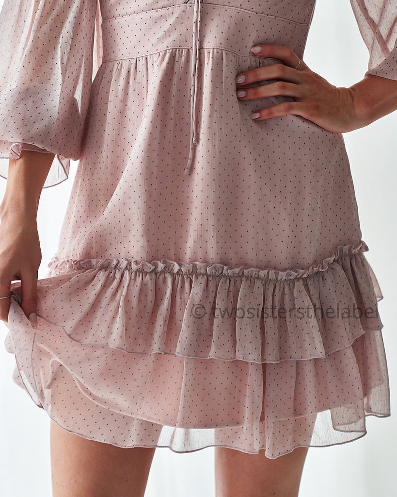 Gloria Dress - Pink - SHOPJAUS - JAUS