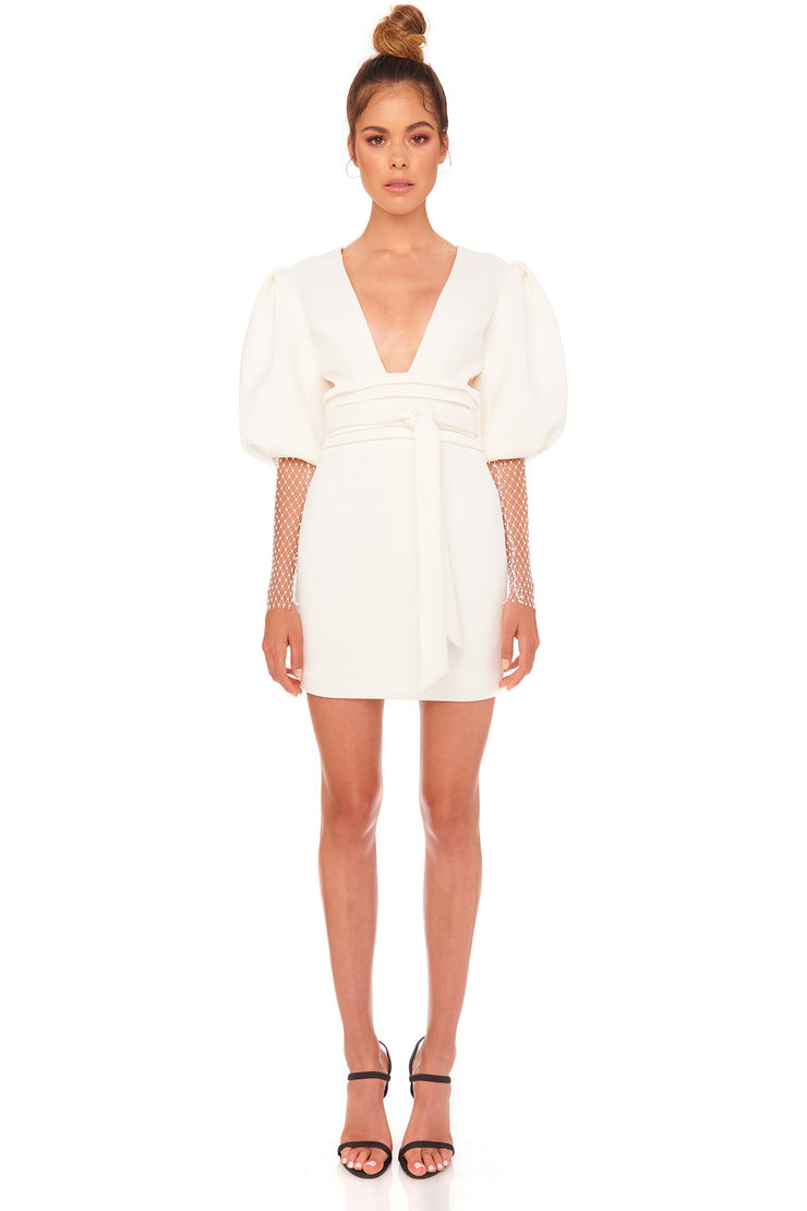 Gravity Dress - White - SHOPJAUS - JAUS