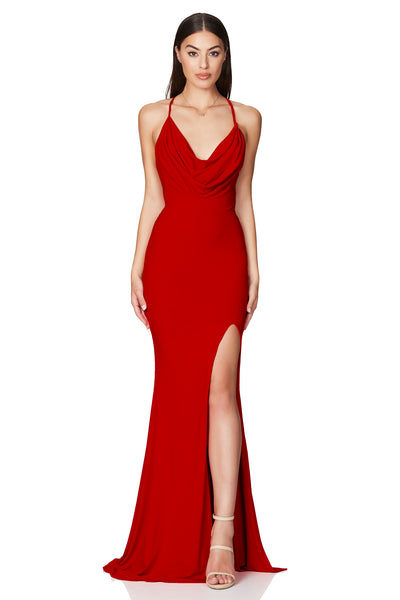 Nookie Harley Gown - Red