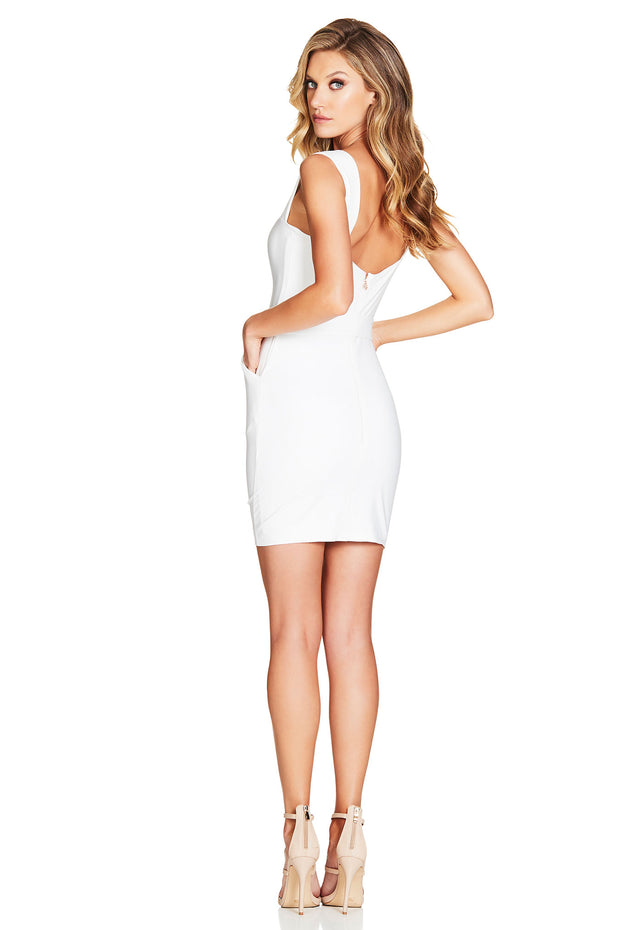 Nookie Wink Mini Dress - Ivory - SHOPJAUS - JAUS