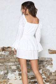 Harper Dress - White - SHOPJAUS - JAUS