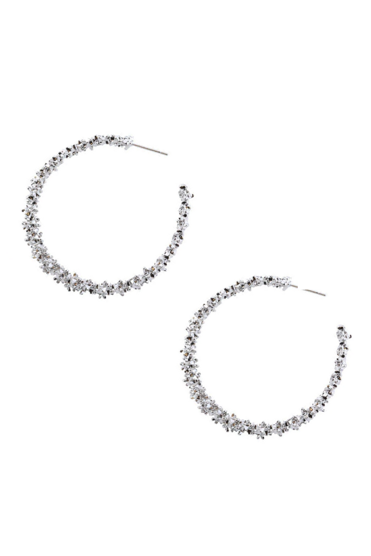 Stefani Earrings - Silver