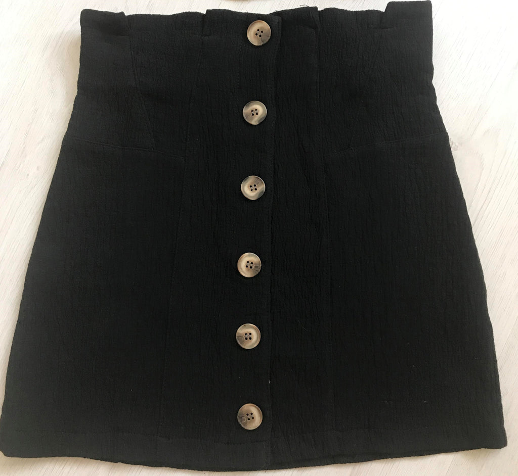 Blair Skirt - Black - SHOPJAUS - JAUS