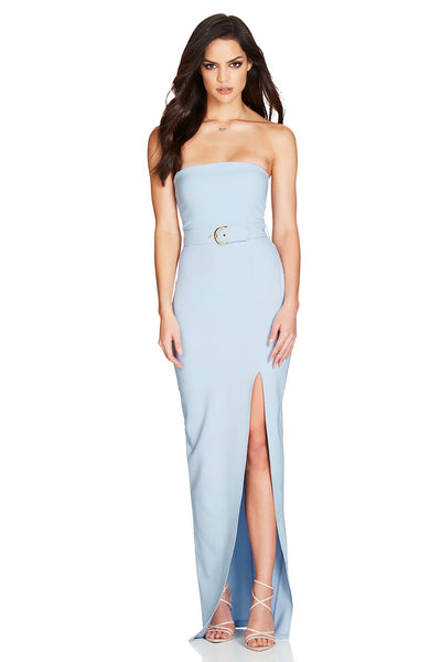 Nookie Impulse Gown - Powder Blue - SHOPJAUS - JAUS