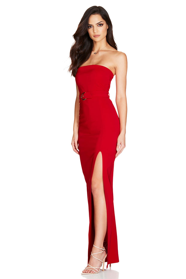 Nookie Impulse Gown - Red - SHOPJAUS - JAUS