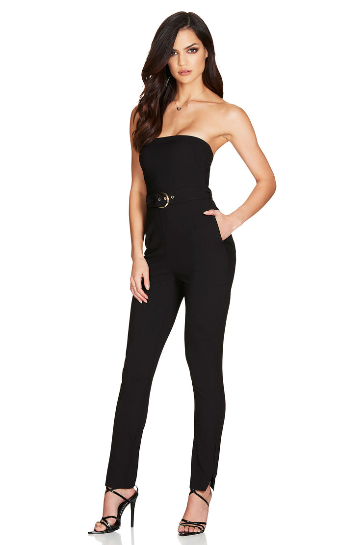 Nookie Impulse Jumpsuit - Black - SHOPJAUS - JAUS
