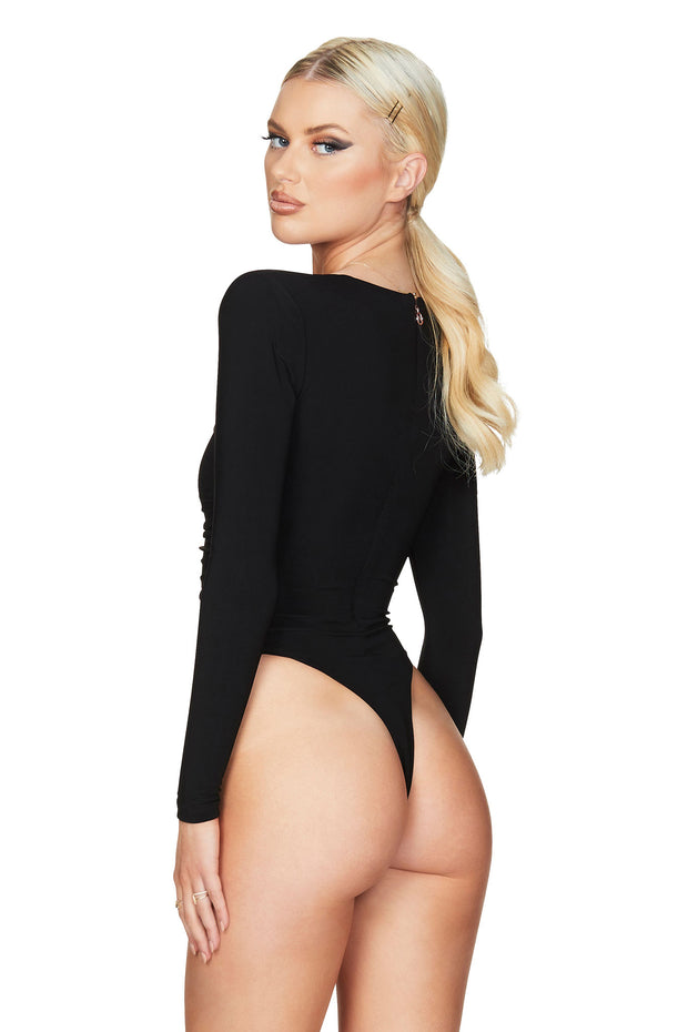 Nookie Irina Bodysuit - Black
